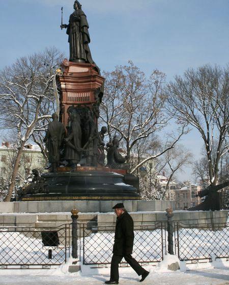 Монумент Катерині Великій в центрі Краснодару