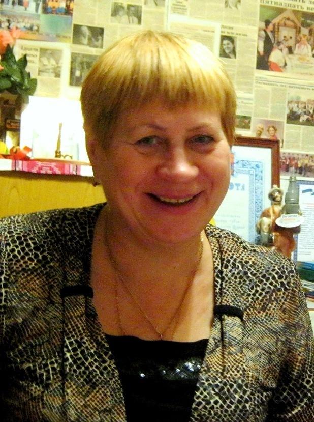 Председатель местной организации НКА 'Украина' с. Усть-Цильма Валентина Дуркина
